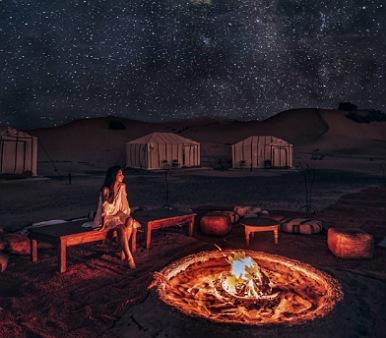 Excursion en Camello en el Desierto Merzouga
