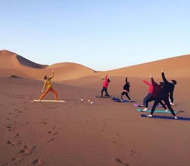 Viajes de yoga a Marruecos - Yoga en el Desierto
