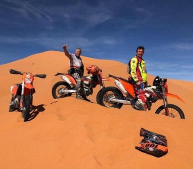 Viaje de motos por el desierto Marruecos